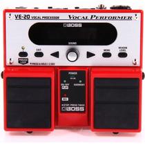 Boss Ve-20 Pedal Processador De Vocal + Gtia. 1 Ano E Nf