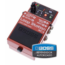 Pedal Boss Loop Station Rc-3 - Loja Oficial Boss