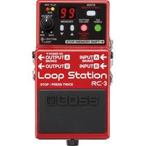 Pedal Boss Rc3 Loop Station - Loja Bolero Music !!