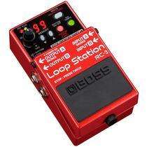Pedal Para Guitarra/baixo Boss, Loop Station Rc-3