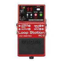 Pedal Boss Loop Station Rc-3 (novo)(original)(garantia)