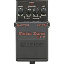 Pedal Boss Metal Zone Mt-2 (novo)(original)(garantia)
