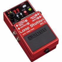 Pedal Boss Rc-3 Loop Station Pedal Para Guitarra