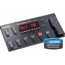 Pedaleira Boss Gt-100 Effects Processor - Loja Oficial Boss