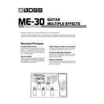 Manual Pedaleira Boss Me - 30 - Português - Pdf