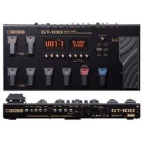 Boss Gt-100 Guitar Multi-effects Pedaleira