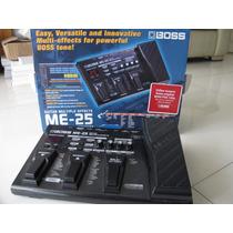 Boss Me25 Pedaleira Distorcao Delay Chorus Compressor Reverb