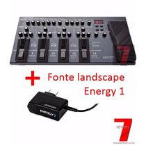 Pedaleira Boss Me80 + Fonte Landscape Energy 1