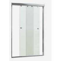 Kit 2 Portas (1,40mt) P/ Instal. De Box Em Vidro - Nat.fosco
