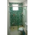 Box Banheiro, Vidro Temperado 8mm, Incolor, (tipo Blindex)