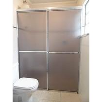 Box Banheiro, Acrilico, Jateado Ou Fumê, 0km Instalado