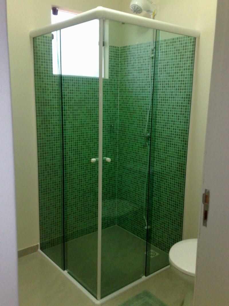 Box De Vidro Para Banheiro Sp E Região À Partir De R$65,00m2  R$ 65,00 no Me -> Armario Para Banheiro De Vidro Mercadolivre