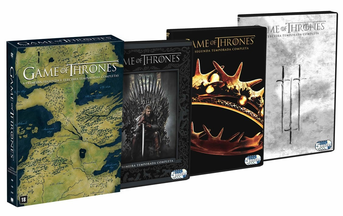 Game Of Thrones Season 4 DVD Box Set - dvdserieslist.com