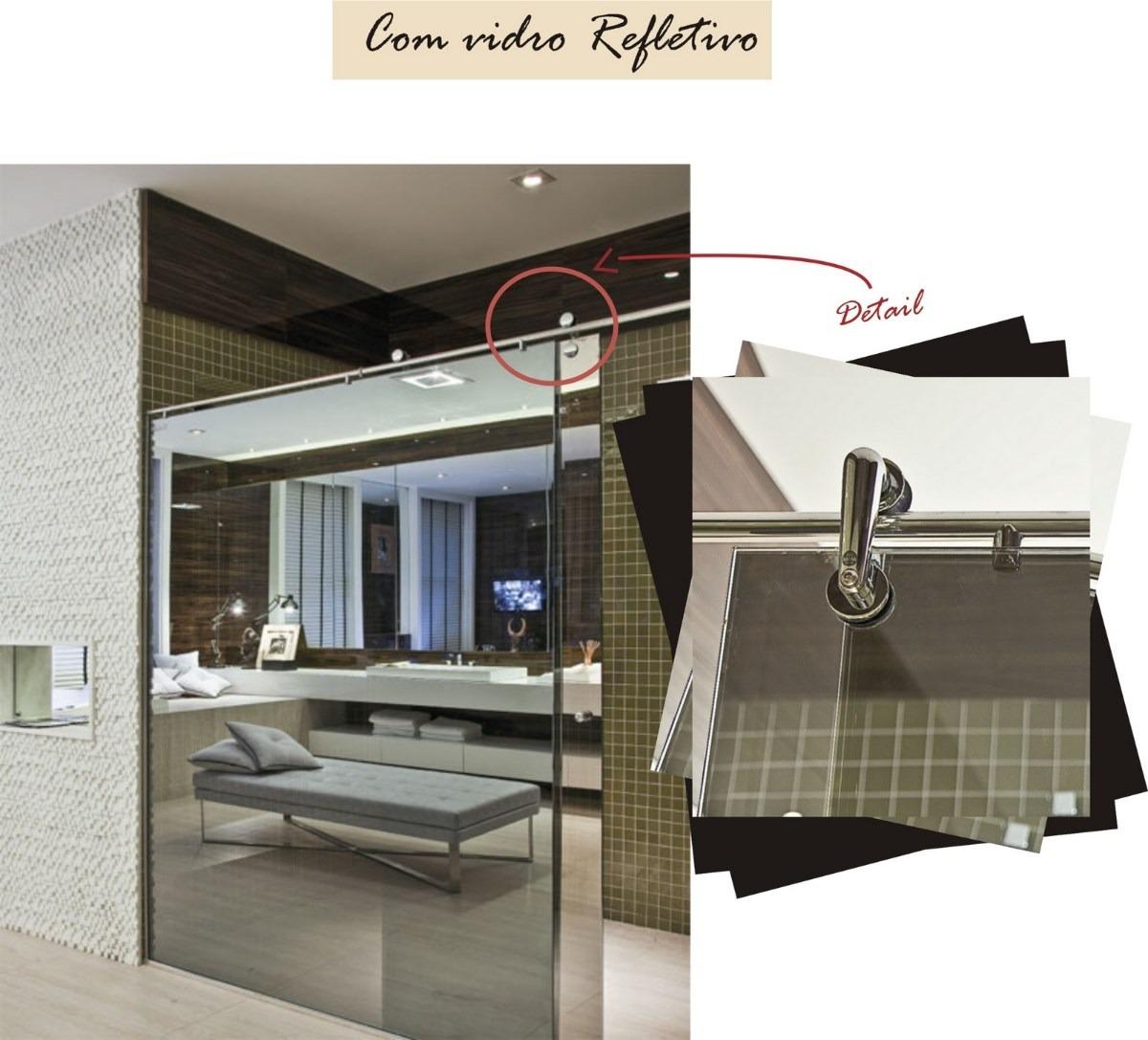 Imagens de #526079 Box Espelhado Temperado Refletivo Neutral 14 Incolor 8 Mm R$ 480 00  1200x1087 px 2550 Box Banheiro Vidro Espelhado
