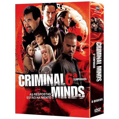 Box Original : Criminal Minds - 6ª Temporada - 6 Dvds