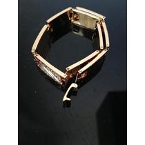 Pulseira Bracelete 9k Filled Gold 20cms. - 10 X 3mms.