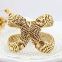 Bracelete Dourado Importado Pronta Entrega No Brasil