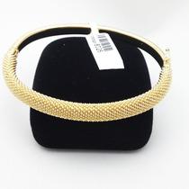 Bracelete Super Luxo Semi Joia 18k 1 Ano Garantia
