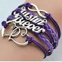 Pulseira Bracelete Múltiplo - Justin Bieber