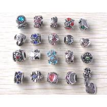 Kit Com 20 Berloques Charm Bracelet Estilo Vivara Pandora