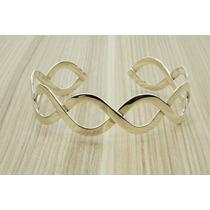 Bracelete Pulseira Bali Feminino (l) Prata 925 Linda