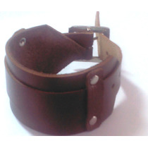 Bracelete Couro Para Relógio Frete-grátis
