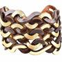 Bracelete Excêntrico - Marrom