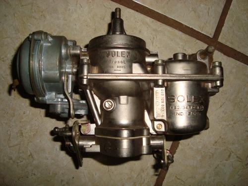 Brasilia - Carburador Solex H32/34 Pdsi.2 Álcool Novo 1600