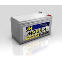 Bateria Moura Nobreaks/ups/estabilizador/alarm 12 V 7 Amper