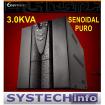 Nobreak Enermax 3000va 3.0 Kva Senoidal Puro Bivolt