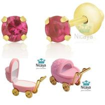 Nicaya Brinco Recém Nascido Baby Ouro 18k-750 + Caixinha