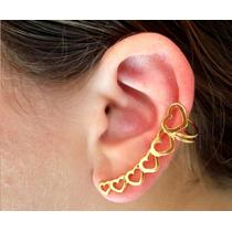 Brinco Ear-cuff - Coração - Asas - Spike - Cobra - Modernos