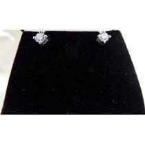 Glitter - Brinco Solitario Ouro 18k C 40 Pontos De Diamantes