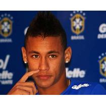 Brinco Masculino Luxo, Neymar, Beckham Prata 950 Maciça