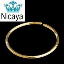Nicaya Piercing Argola Nariz Ouro 18k-750