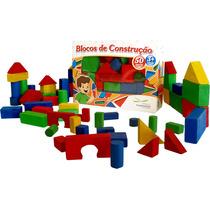 Blocos De Construção - Brinquedo Pedagógico Educativo