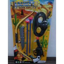 Arma Arco E Flecha Kit Brinquedo