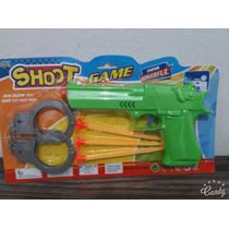 Arma Pistola Desert Eagle Color Dardos Algemas