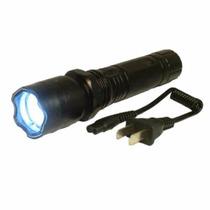 Arma Choque - Defesa Pessoal Lanterna + Coldre De Brinde