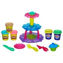 Conjunto Play Doh Cupcake Massinha