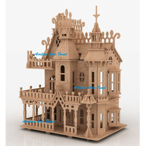 Casa Boneca 70cm + Kit Móveis + Frete Grátis