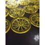12 Rodas De Carroça Com 3cm Acrilico 2mm