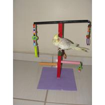 Playground Para Aves (calopsitas, Periquitos, Papagaio..) 06