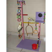 Playground Para Aves (calopsitas, Periquitos, Papagaio..) 08