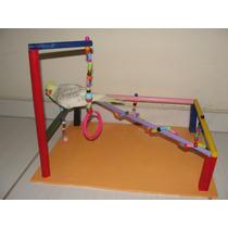 Playground Para Aves (calopsitas, Periquitos, Papagaio..) 10