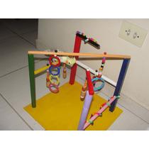 Playground Para Aves (calopsitas, Periquitos, Papagaio..) 07