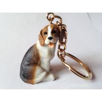 Chaveiro Beagle Terrier Cães Raça Cachorro Miniaturas