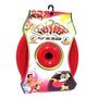 Brinquedo Cães Frisbee Disco Borracha Vermelho Diversão