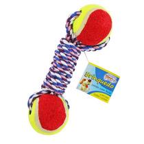 Kit 3 Brinquedos Mordedor Corda Bola Cachorro Pet Xpet-202