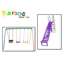 Conjunto Surpresa - Brinquedo Infantil - Balanço - Escorrega